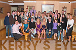 Katie Houlihan, from Tarbert and Joanne Fitzgerald from Glin seated centre had a double 21st birthday celebration in Kirby's lanterns Hotel Tarbert on Saturday night with family and friends...   Copyright Kerry's Eye 2008