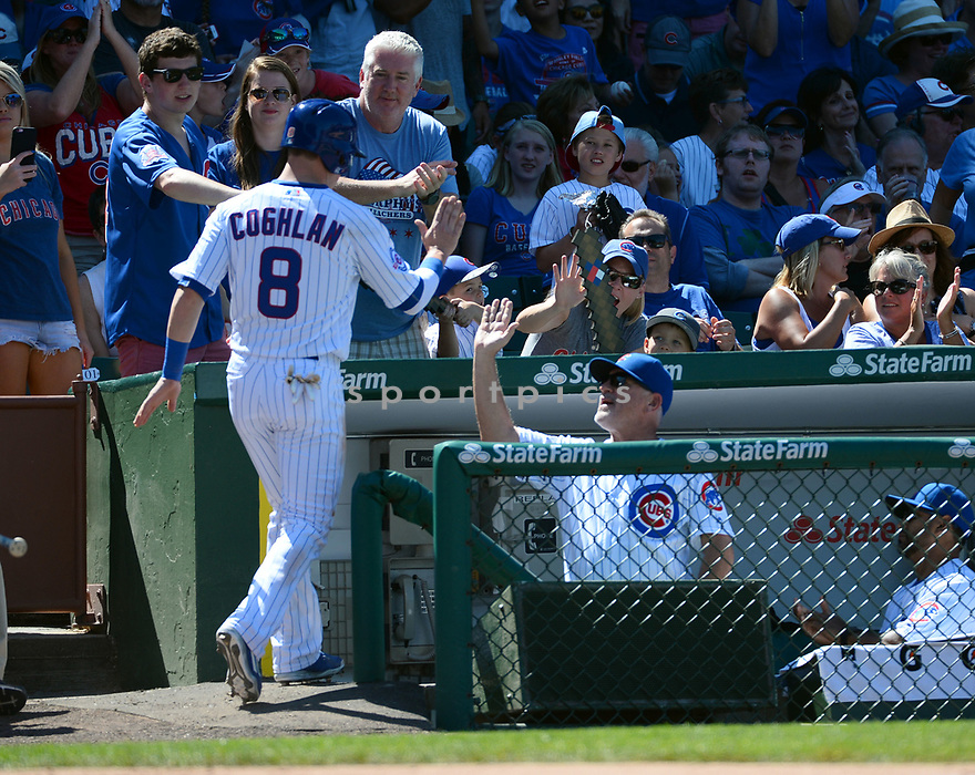 Chicago Cubs Joe Maddon (70) during a game against the Pittsburgh Pirates on June 17, 2016 at Wrigley Field in Chicago, IL. The Cubs beat the Pirates 6-0.
