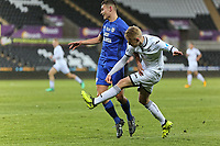 Pictured: Oliver Cooper of Swansea. Tuesday 01 May 2018<br /> Re: Swansea U19 v Cardiff U19 FAW Youth Cup Final at the Liberty Stadium, Swansea, Wales, UK