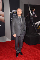 LOS ANGELES, CA - FEBRUARY 05: Christoph Waltz at the premiere of 'Alita: Battle Angel'  at Westwood Regency Theater on February 5, 2019 in Los Angeles, California. <br /> CAP/MPI/DE<br /> &copy;DE//MPI/Capital Pictures