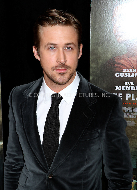 WWW.ACEPIXS.COM....March 28 2013, New York City....Ryan Gosling arriving at 'The Place Beyond The Pines' New York Premiere at Landmark Sunshine Cinema on March 28, 2013 in New York City....By Line: Nancy Rivera/ACE Pictures......ACE Pictures, Inc...tel: 646 769 0430..Email: info@acepixs.com..www.acepixs.com