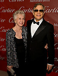 Michael York and his wife Pat York on the red carpet during the Palm Springs International Film Festival awards show at the Palm Springs Convention Center on Saturday.