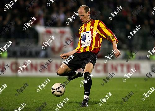 2007-03-10<br />Antwerp FC - KV Mechelen: Bert D'Hondt