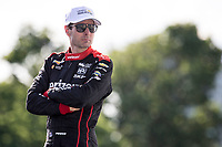 Will Power, Detroit Grand Prix, IndyCar race, Belle Isle, Detroit, MI, June 2018.(Photo by Brian Cleary/bcpix.com)