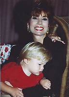 1991 <br /> Kathie Lee Gifford and son Cody Gifford<br /> Photo By John Barrett-PHOTOlink.net/MediaPunch
