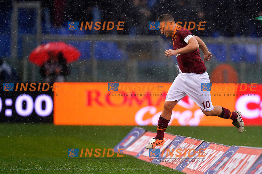 Francesco Totti Roma <br /> Roma 02-01-2014 Stadio Olimpico - Football Calcio Serie A 2013/2014 AS Roma - Parma Foto Andrea Staccioli / Insidefoto