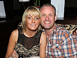 Niall McMahon and Denise sullivan pictured at Lisa Cummins'40th birthday in Nano Reids. Photo: Colin Bell/pressphotos.ie