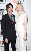 NEW YORK, NY October 01, 2017 Noah Baumbach, Greta Gerwig attend 55th New York Film Festival premiere of The Meyerowitz Stories at Alice Tully Hall Lincoln Center in New York October 01,  2017.<br /> CAP/MPI/RW<br /> &copy;RW/MPI/Capital Pictures