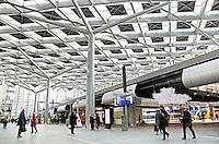 Nederland Den Haag  2016 02 13. De hal van het vernieuwde Centraal Station in Den Haag. Foto Berlinda van Dam / Hollandse Hoogte