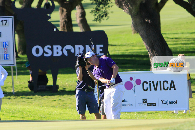 Richie Ramsey (SCO) during the 2nd day at the  Andalucía Masters at Club de Golf Valderrama, Sotogrande, Spain. .Picture Denise Cleary www.golffile.ie
