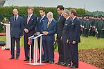 Ceremony of the bicentenary of the Battle of Waterloo. Waterloo, 18 june 2015, Belgium<br /> Pics: descendant families Bonaparte, Bl&uuml;cher and Wellington