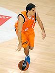 Baloncesto Fuelabrada's Joaquin Colom during Liga Endesa ACB match.October 30,2011. (ALTERPHOTOS/Acero)