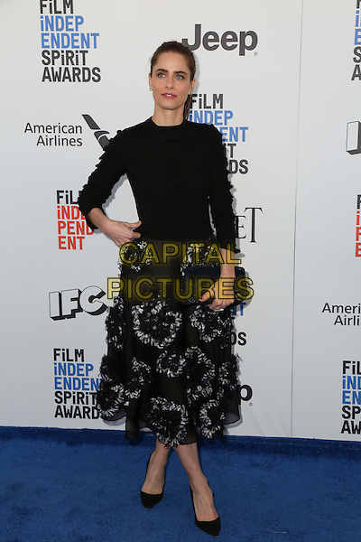 SANTA MONICA, CA - FEBRUARY 25: Amanda Peet attends the 2017 Film Independent Spirit Awards at Santa Monica Pier on February 25, 2017 in Santa Monica, California.  <br /> CAP/MPI/PA<br /> &copy;PA/MPI/Capital Pictures