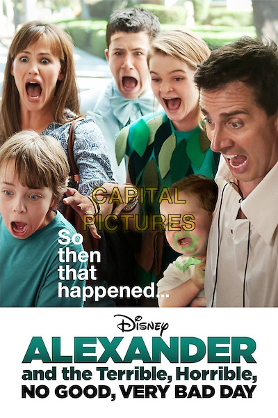 POSTER ART<br /> in Alexander and the Terrible, Horrible, No Good, Very Bad Day (2014) <br /> *Filmstill - Editorial Use Only*<br /> CAP/NFS<br /> Image supplied by Capital Pictures