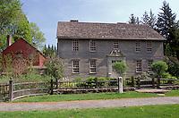 Stockbridge, Massachusetts, The Berkshires, The Mission House in Stockbridge in the spring.