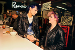 Punk 1970s with coloured hair Kings Road Chelsea London England UK 1979