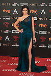 Clara Lago attends 30th Goya Awards red carpet in Madrid, Spain. February 06, 2016. (ALTERPHOTOS/Victor Blanco)
