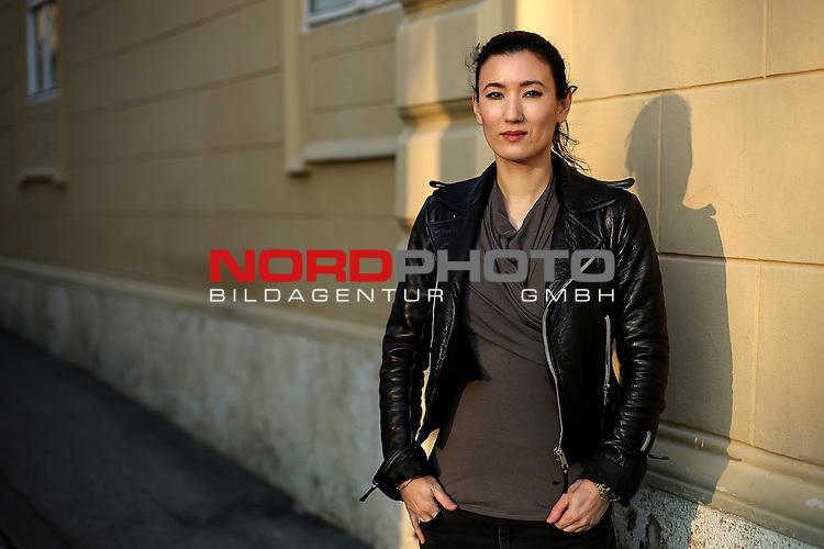 24.03.2015., Zagreb,Croatia  -  German-Japanese violinist Susanna Yoko Henkel.<br />   Foto &copy; nph / Anto Magzan/PIXSELL