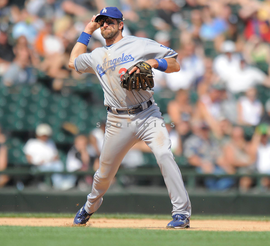 CASEY BLAKE,of the Los Angeles Dodgers, in action during the Dodgers game against the Chicago White Sox on June 25, 2009 at U.S. Cellular Field in Chicago, IL.  The White Sox win in 13 innings 6-5