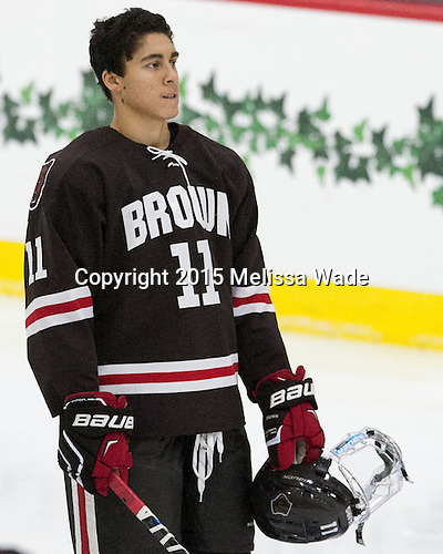 Max Gottlieb (Brown - 11) - The Harvard University Crimson defeated the visiting Brown University Brown Bears 5-2 (EN) on Saturday, November 7, 2015, at Bright-Landry Center in Boston, Massachusetts.