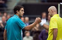 13-02-12, Netherlands,Tennis, Rotterdam, ABNAMRO WTT, Jesse Huta Galung verslaat Ljubicic