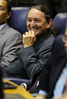 SAO PAULO, SP, 05 DE FEVEREIRO 2013 - ABERTURA ANO LEGISLATIVO - Vereador Marquito (c ) durante abertura da sessão de Abertura do Ano Legislativo da Câmara Municipal de São Paulo (SP), nesta terça-feira (5). FOTO: VANESSA CARVALHO - BRAZIL PHOTO PRESS