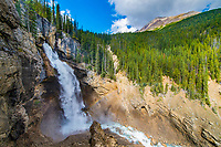 Panther Falls, Icefields Parkway, Alberta, Canada, Canadian Rockies