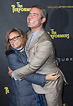 Amy Sedaris & Andy Cohen attending the Broadway Opening Night Performance of 'The Performers' at the Longacre Theatre in New York City on 11/14/2012