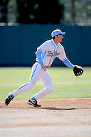 Ryan Graepel (Shortstop) North Carolina Tar Heels (Photo by Tony Farlow/Four Seam Images)