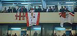FUDBAL, BEOGRAD, 03. Nov. 2010. - Navijaci Brage. Utakmica 4. kola Lige sampiona grupe H izmedju Partizana i Brage / Partizan vs SC Braga UEFA Champions League Group H.. Foto: Nenad Negovanovic