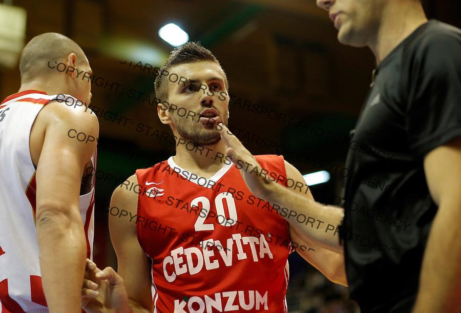 Nemanja Gordic Crvena Zvezda - Cedevita kosarka ABA regionalna liga 4.1.1016. Januar 4. 2016. (credit image & photo: Pedja Milosavljevic / STARSPORT)