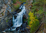 Washington, Northeast, Stevens County, Colville. Crystal Falls in Autumn.