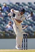 November 4th 2017, WACA Ground, Perth Australia; International cricket tour, Western Australia versus England, day 1; England player Gary Ballance in batting action