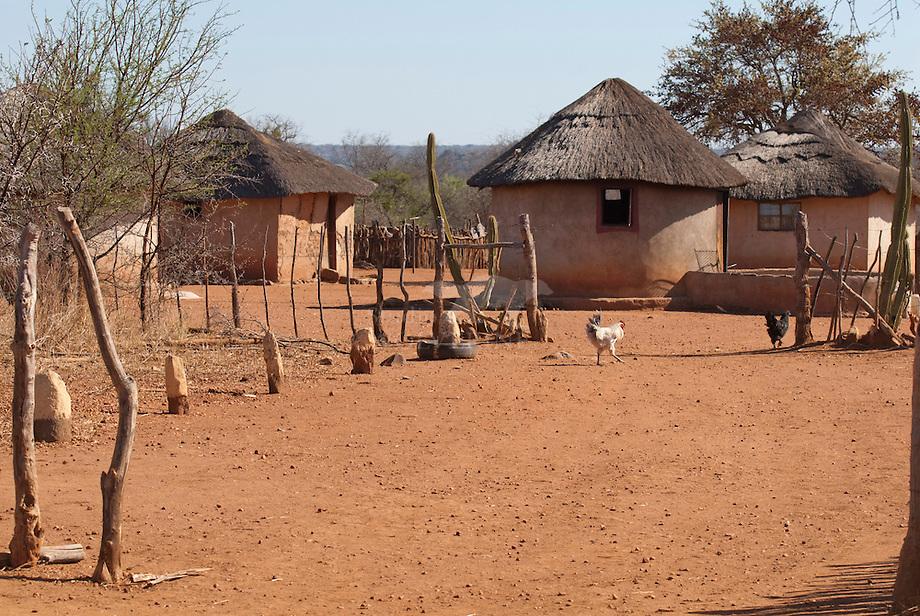 Dorpje omgevng Matobo Nastional Park, Zimbabwe