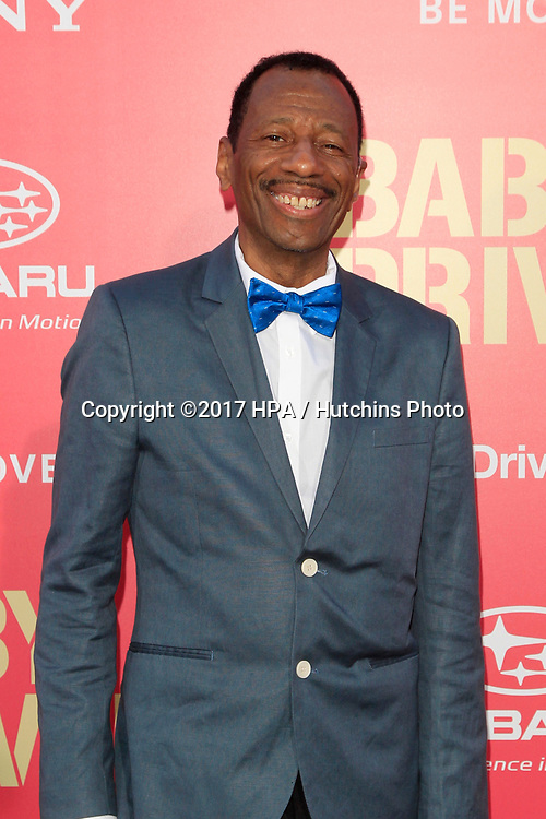 "LOS ANGELES - JUN 14:  CJ Jones at the ""Baby Driver"" Premiere at the The Theater at Ace Hotel on June 14, 2017 in Los Angeles, CA"