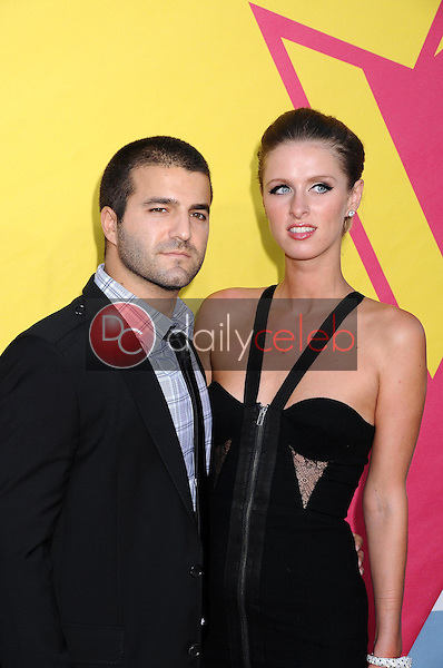 David Katzenberg and Nicky Hilton<br />