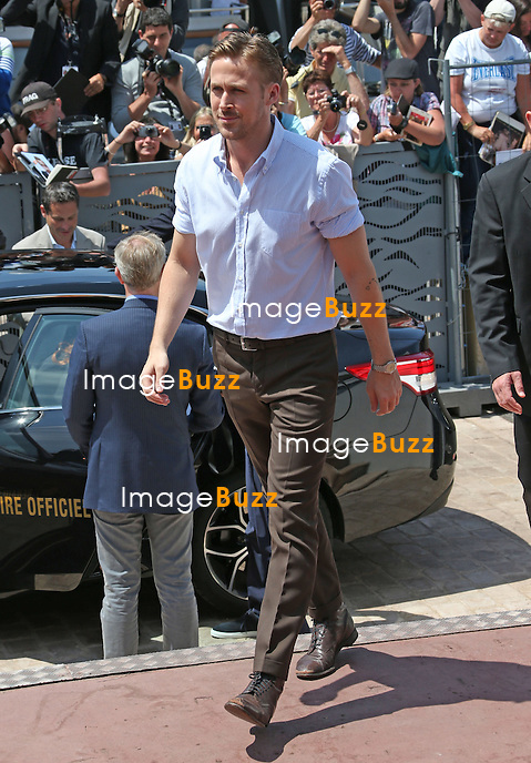 Ryan Gosling arrives at the Palais Des Festivals during the 67th Cannes Film Festival.<br /> France, Cannes, May 20, 2014.