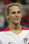 Oct 13 2007:   Kristine Lilly of the US WNT.  The US Women's National Team defeated Mexico 5-1 at the Edward Jones Dome in St. Louis on October 13th in their first of three expo matches.