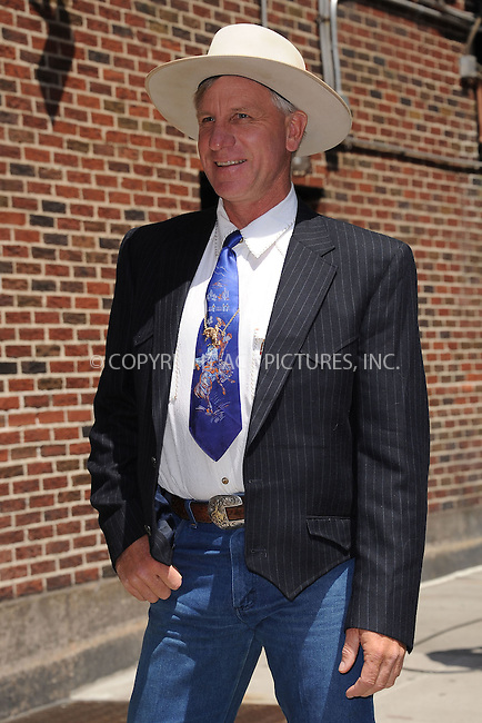 WWW.ACEPIXS.COM . . . . . .June 20, 2011...New York City...Horse whisperer Buck Brannaman tapes the Late Show with David Letterman on June 20, 2011 in New York City....Please byline: KRISTIN CALLAHAN - ACEPIXS.COM.. . . . . . ..Ace Pictures, Inc: ..tel: (212) 243 8787 or (646) 769 0430..e-mail: info@acepixs.com..web: http://www.acepixs.com .