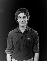 EXCLUSIVE FILE STUDIO - Daniel Lemire in 1983<br /> <br /> Photo :  Agence Quebec Presse - Denis Alix
