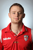 PICTURE BY VAUGHN RIDLEY/SWPIX.COM - Rugby League - England Knights Rugby League Headshots & Team Group - Leigh Sports Village, Leigh, England - 23/10/12 - England Knights Media Nathan Clarke.