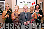 Looking well for the annual Lee Strand social last Saturday night in the Ballygarry house hotel, Tralee were l-r: Freda Fitzgerald, Catriona Sayers, Michael Gaffney, Margaret Lynch and Mairead Nolan.