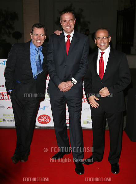 Duncan Bannatyne, Peter Jones and Theo Paphitis  arriving for the Children's Champion Awards 2010, at Grosvenor House Hotel, London. 03/03/2010  Picture by: Alexandra Glen / Featureflash