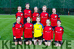 The Camp  team that played Castleisland AFC  in the U14 Girls Premier league in Castleisland's new Astro turf pitch on Saturday