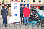 KDYS: Member's of the KDYS and community policing unit who organized the accident and rescue simulation at the Square, Tralee on Saturday l-r: Grada Cathy Murphy (community policing unit), Geraldine O'Meara (KDYS), Grada Pat Rice (community policing unit) and Peter O'Brien (KDYS).