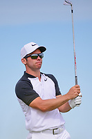 Paul Casey (GBR) watches his tee shot on 13 during Friday's round 2 of the 117th U.S. Open, at Erin Hills, Erin, Wisconsin. 6/16/2017.<br /> Picture: Golffile | Ken Murray<br /> <br /> <br /> All photo usage must carry mandatory copyright credit (&copy; Golffile | Ken Murray)