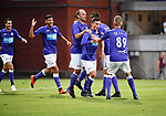 2018-08-10 / Voetbal / Seizoen 2018-2019 / KFCO Beerschot-Wilrijk - KVC Westerlo / Vreugde bij Beerschot-Wilrijk na de 1-0 van Dante Vanzeir<br /> <br /> ,Foto: Mpics