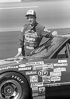 Joe Ruttman with car Daytona 500 at Daytona International Speedway in Daytona Beach, FL in February 1985. (Photo by Brian Cleary/www.bcpix.com) Daytona 500, Daytona International Speedway, Daytona Beach, FL, February 1985. (Photo by Brian Cleary/www.bcpix.com)