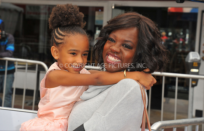 WWW.ACEPIXS.COM<br /> <br /> March 22 2015, LA<br /> <br /> Viola Davis arriving at the 'HOME' Los Angeles Premiere at the Regency Village Theatre on March 22, 2015 in Westwood, California. <br /> <br /> By Line: Peter West/ACE Pictures<br /> <br /> <br /> ACE Pictures, Inc.<br /> tel: 646 769 0430<br /> Email: info@acepixs.com<br /> www.acepixs.com