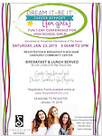 2016 Dream It Be It Girls Conference by SI of The Sierras 1.23.16